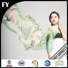 Digital printed scarf /printed silk scarf factory