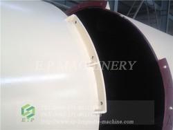 15 t/h coal barrel drum dryer for coal briquette production plant