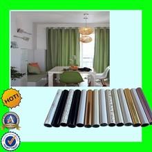 Factory wholesale PVC coating colorful decorative curtain rod