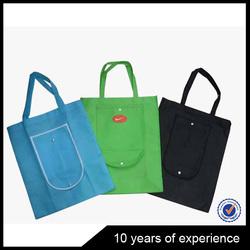 Latest Hot Selling!! China nylon folded shopping bag wholesale
