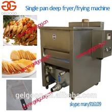 Single tank deep fryer pan chicken nuggets deep fryer