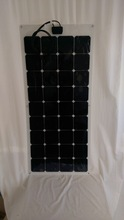 Hot sell low price light weight flexible solar panel 110w for RV / Boats