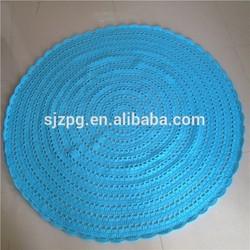 felt ball rug, carpet rug, wool ball rug