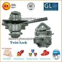 up down fasten shipping container twist lock Marine Stacking Twistlocks