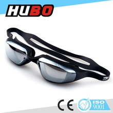 PC safety glasses swimming pool goggles black silicone swimming eyewear
