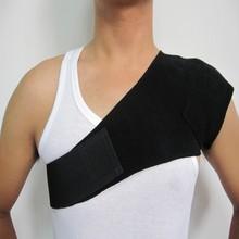 china supplier fda bv ce iso magnetic shoulder support brace elastic shoulder support heated back posture support brace