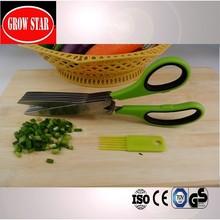 Perfect culina black titanium herb scissors kitchen tools