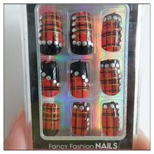 Top level hot selling natural luxury false nails art tips