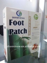 2015 HOT SELLING health product of foot pads with gift box packing