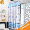 ( sc-12) pescado diseño de la cortina de baño, cortina de la ducha