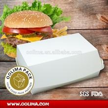 eco friendly paper burger box,packing burger box,Hamburger container