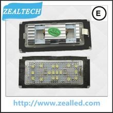 250LM 12V 1.8W 18SMD LED License Plate Light for BMW E66