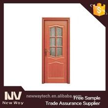 glass insert wood interior pvc door entry door glass insert pvc wood door