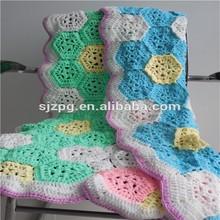 Crochet cotton Baby Blanket, Knitted Baby Blanket, Crochet Blanket For Children
