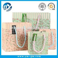 Beautiful paper bag manufacturer wholesale shopping manufacture