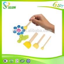 Kids bulk paint brushes wholesale alibaba sponge paint brush