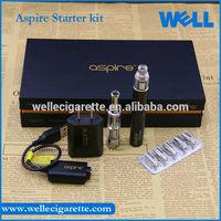 Craze Selling!! WellECS Offer Original Aspire K1 Clearomizer & G-Power Battery Aspire Starter Kit