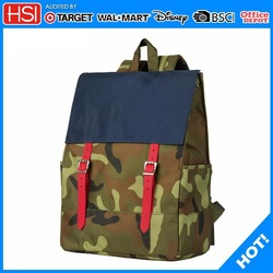 China supplier BSCI audited canvas backpack,leather backpack,waterproof backpack