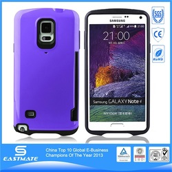 Hot Mixed Color genuine leather case for samsung galaxy note4