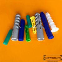PVC wall plug, high quality plastic expansion anchor