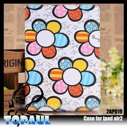 china factory new arrival for ipad rotating case for iPad 6,case for iPad air 2