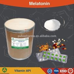 Melatonin powder/CAS 73-31-4/ USP36/BP2012/ melatonin powder raw material