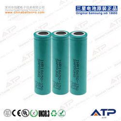 Samsung 18650 li-ion battery 3.7v 1500mah / electronic tool li-ion battery 3.7v 1500mah / li-ion battery 3.7v 1500mah