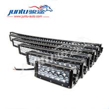 Innovative 12v light arch bent 50 inch 288w 3D 4x4 led bull bar light for Jeep, pickup trucks