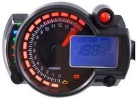 Universal Adjustable LCD Backlight Digital Speedometer Odometer Dashboard for Scooter, ATV, Street bike OEM