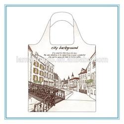 Reusable Custom Polyester Foldable Shopping Bag
