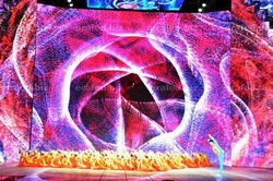 Large 3D LED display indoor &outdoor juice chasing animated led sign RGB 3D LED display