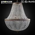 iluminación de la decoración de araña de cristal para el vestíbulo del hotel de decoración