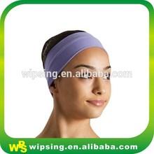 Custom yoga headband cotton lycra head band