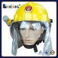 Resgate plástico utilizado bombeiro capacete equipamentos para venda