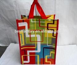 nice logo printing 2014 diecut non woven shopper bag
