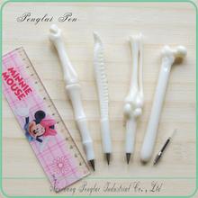 plastic bone ball pen/ bone shaped excellent novelity pen