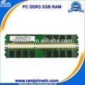 Mhz 1333 pc3-10600 ddr3 2gb a granel ram de memoria de la computadora