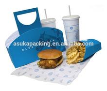 Fast Food Packaging Box, Custom Lunch Box, Custom Paper Lunch Box Packaging