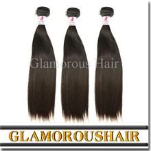 Sliky Straight Hair, 100% Unprocessed Wholesale Virgin Brazilian Hair