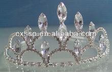 Best selling crystal flower crown headband