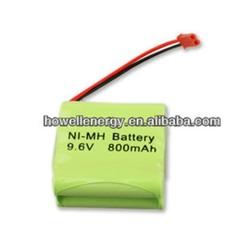 AA Size 9.6v 1800mah Rechargeable Battery/ Nimh Battery