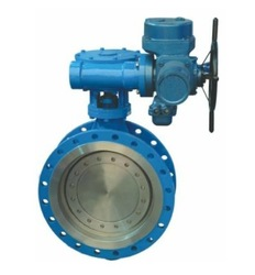 Electric gear operated wafer butterfly valve 500 mm