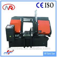 Double column higher stability hydraulic quality GZ-4240/65 band saw cut iron