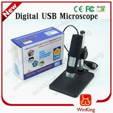 Oem-600 600x 2.0 usb microscopio digital 8 led lupa endoscopio cámara
