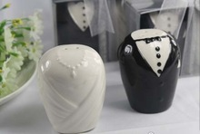 Bride and Groom Salt and Pepper Shakers Wedding/Bridal Shower Favors
