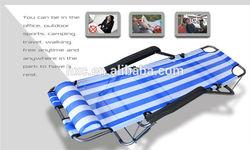 Folding backpack lightweight aluminum folding beach chair