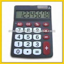 12 destop office use desktop promotion plastic calculator