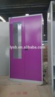 2 door purple functional knock down bedroom metal cheap wardrobe