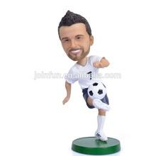 Custom soccer figure factory,Plastic Soccer player action figure,Miniature soccer player figure