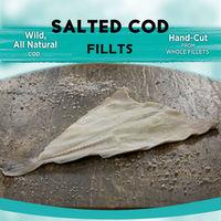 BRC, MSC , HACCP, ISO Certification Frozen Salted Cod